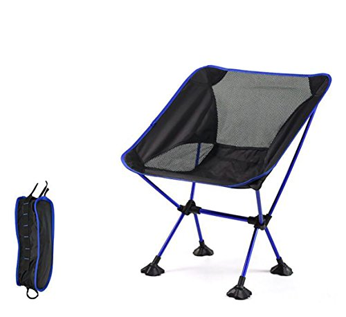 Entire5stars Camping Chair,Ultralight Weight Heavy Duty Compact Portable Folding Backpacking,350Capacity 1000D Oxford Aluminum Frame,Perfect Beach Hiking Fishing Sports Picnic Outdoor With Carry Bag