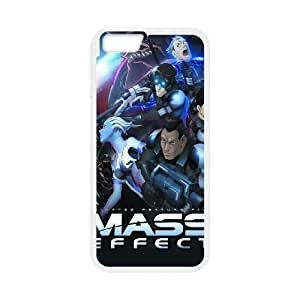 Mass Effect iPhone 6 Plus 5.5 Inch Cell Phone Case White DIY Gift zhm004_0488670