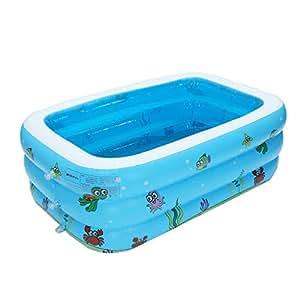 Amazon.com: CSSD piscina inflable para niños, piscina grande ...