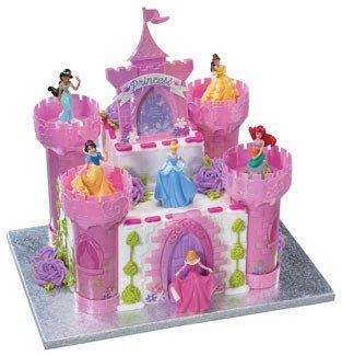 Amazoncom Disney Princess Cake Castle Topper Set Kitchen Dining