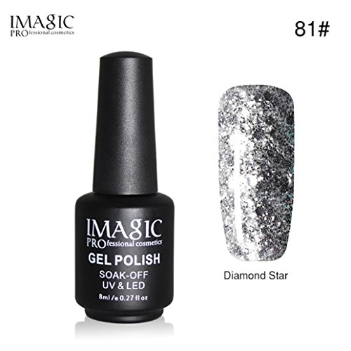 Black Bottle 8ML Gel Nail Polish Art Nail Gel UV LED Semi Permanent Varnish