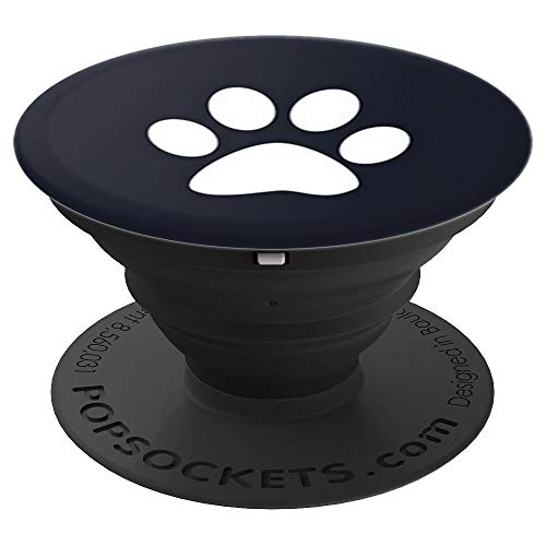 Paw Print Pop Up Cellphone Holder Grips,Cute Dog Popout Knob - PopSockets Grip and Stand for Phones and Tablets