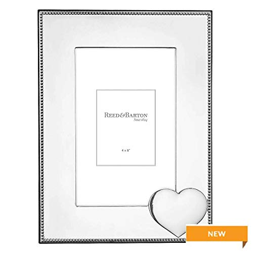- Precious Heart Silverplate 4x6 Frame by Reed & Barton - 4x6