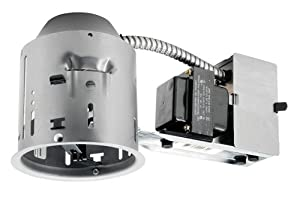 Juno Lighting TC44R 4-Inch TC rated Low Voltage Remodel Recessed Housing