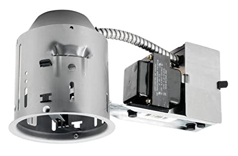 Juno Lighting TC44R 4-Inch TC rated Low Voltage Remodel Recessed Housing - Low Voltage Trims