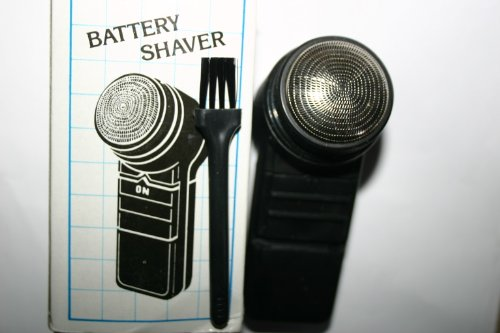Electronic Shaver Unisex Compact Battery Operated Good Quality Ideal For Travel, Car Ect
