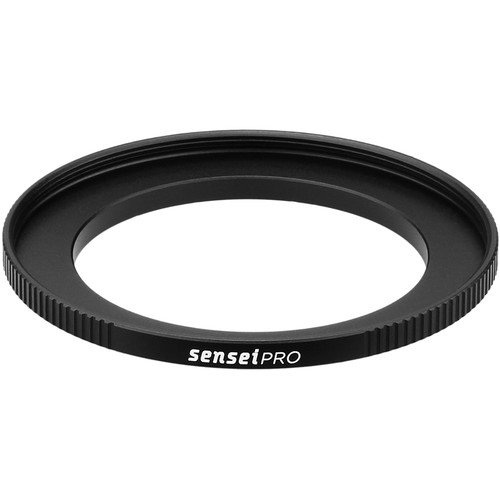 Sensei PRO 49mm Lens to 62mm Filter Aluminum Step-Up Ring