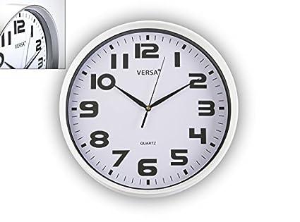 VERSA - Reloj Cocina Blanco Versa 31 Cm