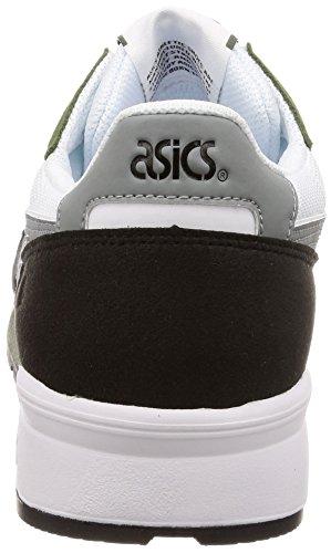 Asics Unisex 101 lyte stone Gris Grey Gel Adulto white Zapatillas rrxqzO6nw