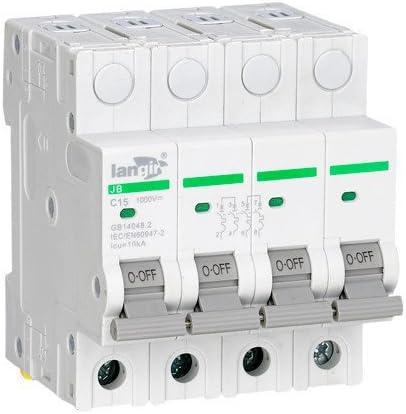 Protection de tension pour la g/én/ération de CC et solaire avec certificats TUV Interrupteur de disjoncteur miniature non polaris/é LANGIR