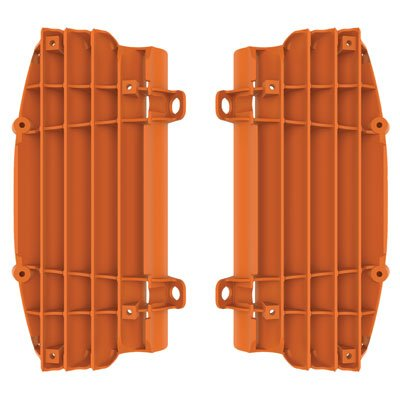 Polisport Radiator Louvers KTM Orange for KTM 300 XC 2017-2018