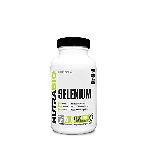NutraBio Selenium 200 mcg Vegetable product image