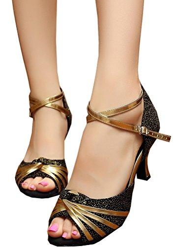 CFP - Zapatillas de danza de Material Sintético para mujer negro