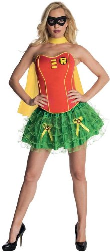 Women's Costume: Flirty Robin- Medium