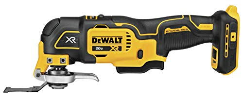 DEWALT 20V MAX XR Oscillating Multi-Tool, Variable Speed, Tool Only (DCS356B)