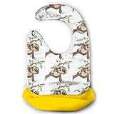 Cartoon Sloth Adjustable Baby Bibs