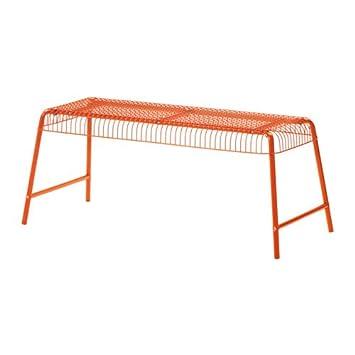 Wonderful Ikea Bench, In/outdoor, Orange 1028.22329.226