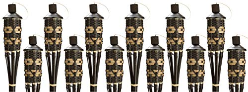 Style Bamboo Torches - Decorative Torches with Fiberglass