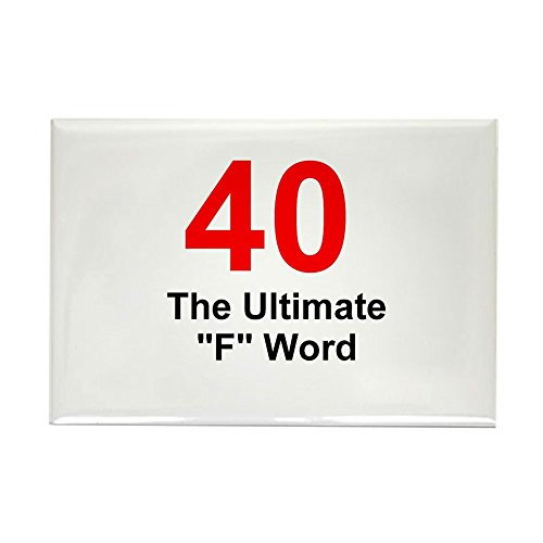 CafePress 40Th Birthday Rectangle Magnet, 2