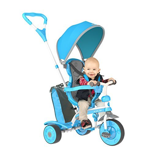 Strolly Spin - Spinning Stroller for Kids (Blue) by Strolly