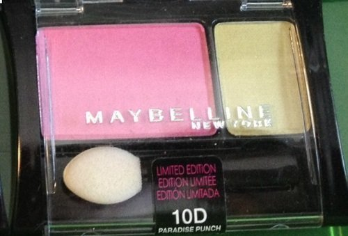 Maybelline New York Limited Edition Eyeshadow - 10D Paradise Punch