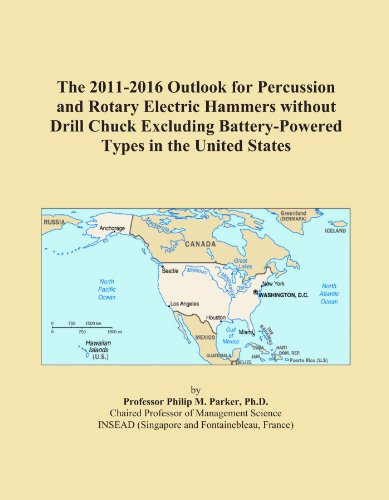 The 2011-2016 Outlook for Percussion and Rotary Electric Hammers without Drill Chuck Excluding Battery-Powered Types in the United States ()