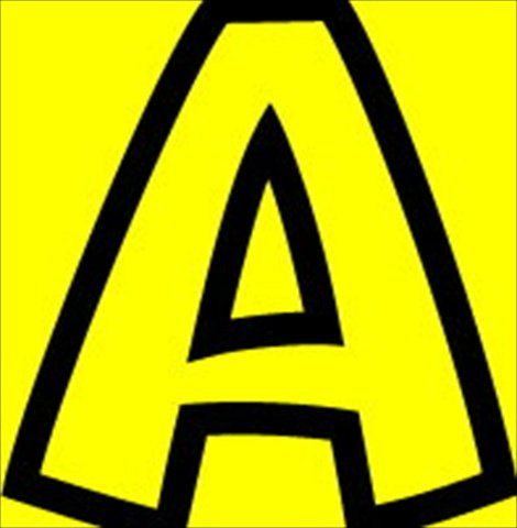 Uppercase And Lowercase Playful Decorative Letter44; 4 In. - Yellow - Trend Enterprises 080048