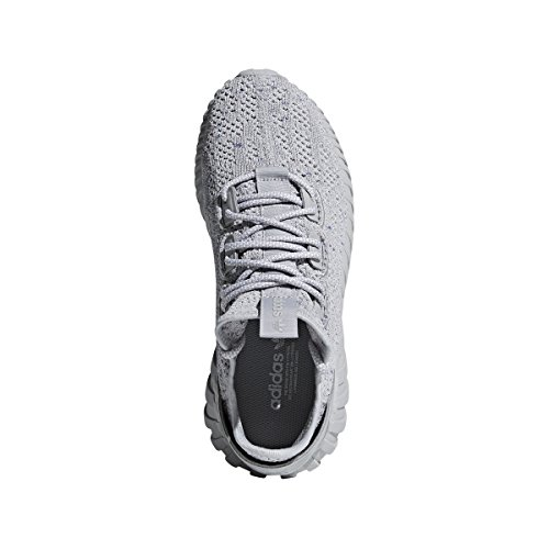 Adidas Rørformet Undergang Sokk Primeknit Menns I Grå / Hvit Med