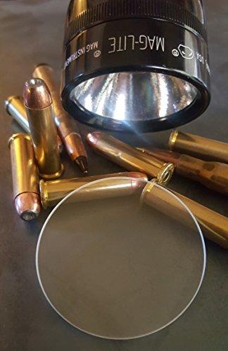 LITT Maglite Flashlight Lens Upgrade Bulletproof Material Shatterproof and UltraClear -- C D Model