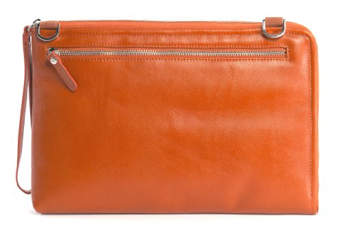 "Tucano Elle 11"" Sleeve case Orange - notebook cases (27.9 cm (11""), Sleeve case, Orange, Leather, Monotone, Ultrabook 11'', Macbook Air 11'')"