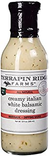 product image for Terrapin Ridge Farms Creamy Italian White Balsamic Dressing 12 FL OZ (Pack of 6)