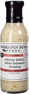 product image for Terrapin Ridge Farms Creamy Italian White Balsamic Dressing 12 FL OZ (Pack of 6)