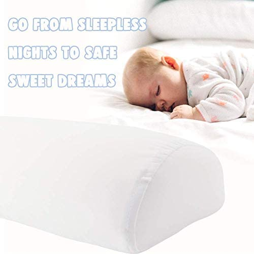 Tebery Toddler Bed Rail Bumpers Safety Sleep Side Rail with Waterproof Cover Pillow Pad for Kids