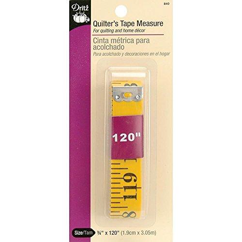 (Dritz 33262102502 Fiberglass Quilter Tape, 120