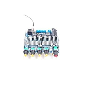 KNACRO TPA3116 Bluetooth 4.2 2.1 Subwoofer Amplifier Board DC12-24V HIFI Digital Amplifier Board 50W + 50W + 100W