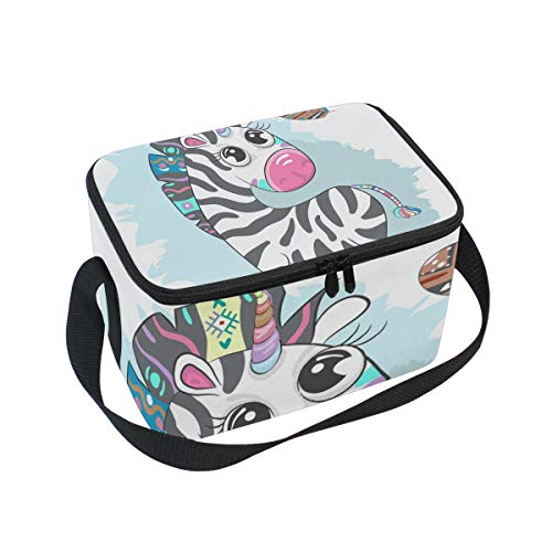 Box Bag Cooler Women Lunch Tote Large Kids for Insulated Cute Multi5 Penguin Lunch Bag Z0qzEz
