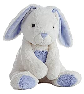 "Aurora World Quizzies 16"" Bun Bun Bunny Stuffed Bunny, Blue"