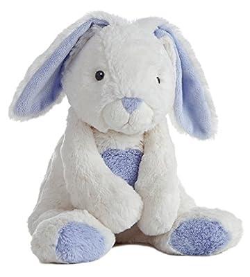 "Aurora World Quizzies 16"" Bun Bun Bunny Stuffed Bunny, Blue"