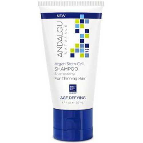 Andalou Naturals Argan Stem Cell Age Defying Shampoo, 1.7 Fluid Ounce - 6 per case. ()
