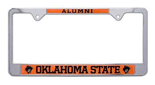 All Metal NCAA Alumni OSU Cowboys License Plate Frame (Oklahoma State)