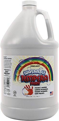 Pro-Art 1-Gallon Washable Liquid Tempera, White