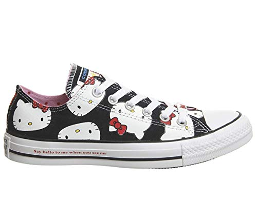 f1deac000306 Galleon - Converse Chuck Taylor All Star Lo Hello Kitty Fashion Sneakers ( Black 9617