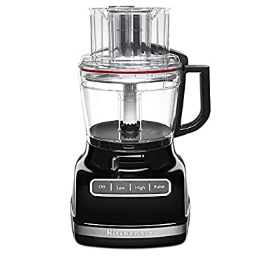 KitchenAid KFP1133OB 11-Cup Food Processor with Exact Slice System Onyx Black