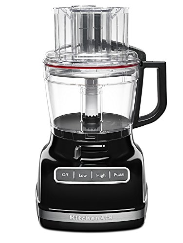 (KitchenAid KFP1133OB 11-Cup Food Processor with Exact Slice System - Onyx Black)