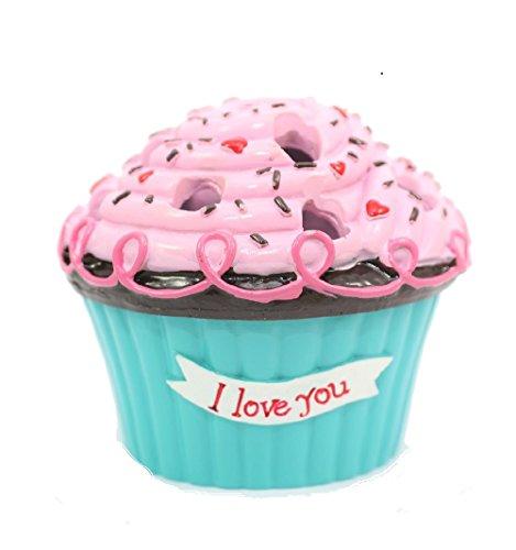 (Cupcake Bouquet Vases (I Love You) - Ganz Cupcake Flower Arrangement)