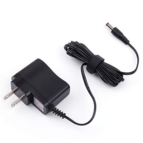 9V Power Supply for Guitar Effects Pedal, AC/DC Power Adapter for BOSS, Dunlop, DanElectro, Ditto, Electro Harmonix, TC Electronic Pedal, Keyboard, 500mA, UL Listed, 6.6FT Cable 9v 200ma Power Adaptor