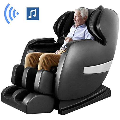 Deluxe S-Track Massage Chair By Ootori,Recliner with 3D Robot Hand, Zero Gravity Full Body Air Massage, with Stretch Heating Vibrating Function (Best Full Body Stretches)