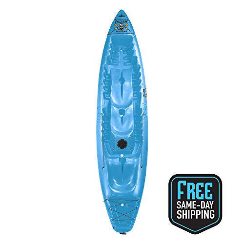 Calcutta Tandem Seat Kayak Blue by Calcutta