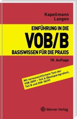 Einführung in dei VOB/B