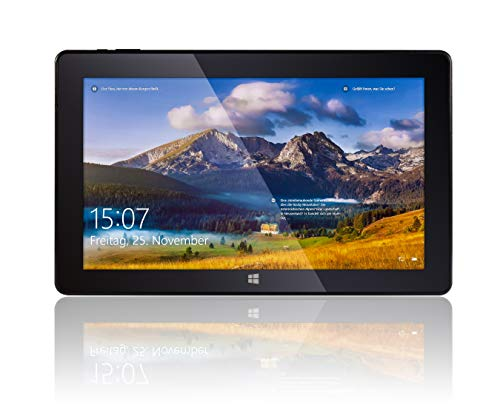 "Fusion5 T60 64GB Tablet PC - 11.6"" Windows Tablet PC Intel Atom x5-Z8350 Quad Core Processor Full HD IPS Windows 10 S Tablet Computer"